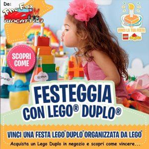 Vinci la festa di Lego