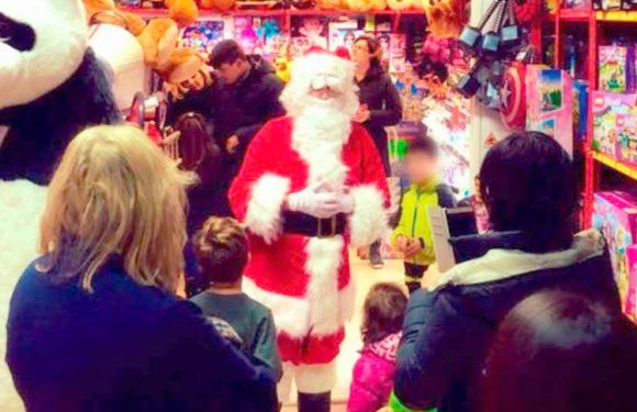 Appuntamento con Babbo Natale e la nostra Mascotte